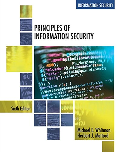 Principles of Information Security by Cengage Learning