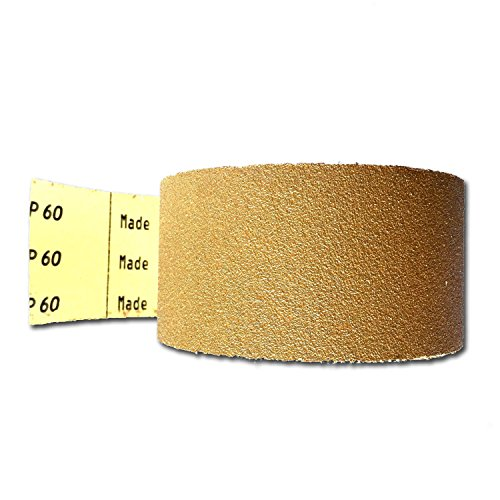 "Perfect Sanding Supply 2-3/4"" Sandpaper Roll - PSA Adhesive Longboard (2-3/4 Inch X 25 Yards, 100 grit)"