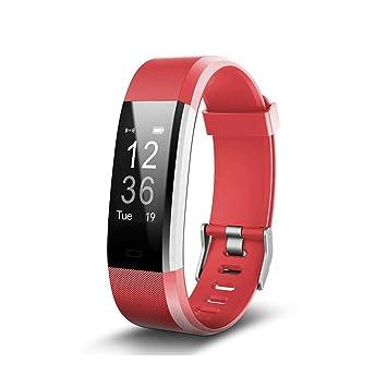 FONCBIEN Pulsera Inteligente Reloj Mujer Hombre Bluetooth Deporte ...