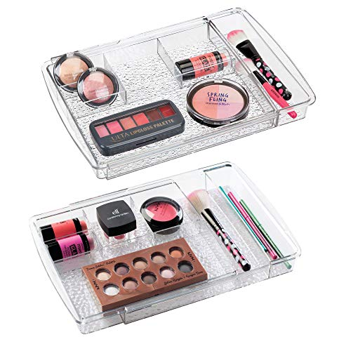 Expandable Makeup Organizer for Bathroom Drawers