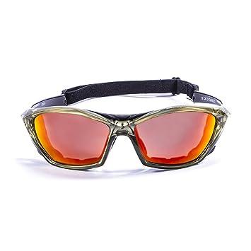 Ocean Sunglasses 13001.6 - Gafas de Sol polarizadas (Montura : Amarillo Transparente, Lentes :