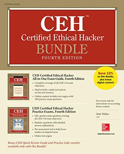 CEH Certified Ethical Hacker Bundle, Fourth Edition por Matt Walker