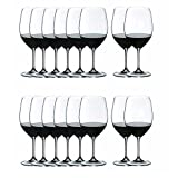 Riedel VINUM Bordeaux/Merlot/Cabernet Wine Glasses, Pay for 8 get 16