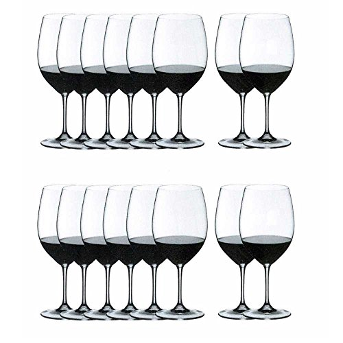 Riedel VINUM Bordeaux/Merlot/Cabernet Wine Glasses, Pay for 8 get 16 by Riedel