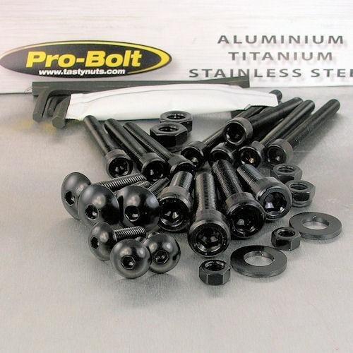 Aluminium Workshop Kit 25 Piece Black