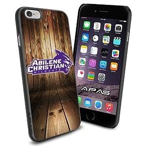 Abilene Christian Wildcats NCAA Silicone Skin Case Rubber Iphone 6 Case Cover Black color