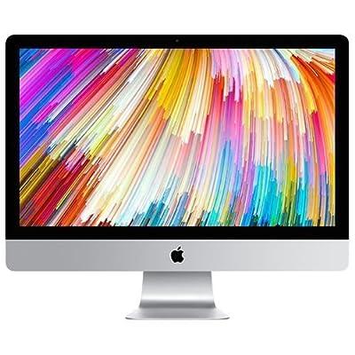 "Apple 27"" iMac with Retina 5K Display (Mid 2017) - 4.2GHz Intel Quad-Core i7 Processor, 32GB DDR4 Memory, 2TB Fusion Drive, 4GB AMD Radeon Pro 575, macOS, Silver"