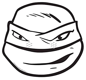 Máscara de cartón para adulto leonardo © ninjaa colorear ...