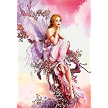 Gracefulvara Fairy Butterfly Diamond Embroidery Painting Home Decor Cross Stitch DIY Craft