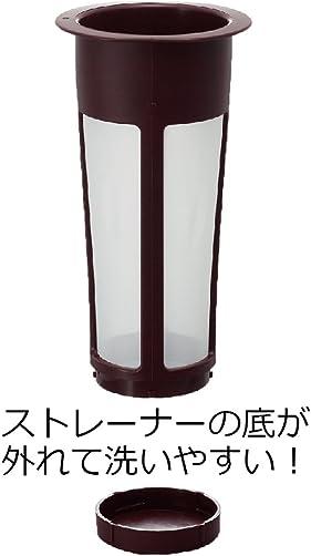 Hario Mizudashi Cold Brew Coffee Pot, 1000 ml, Red