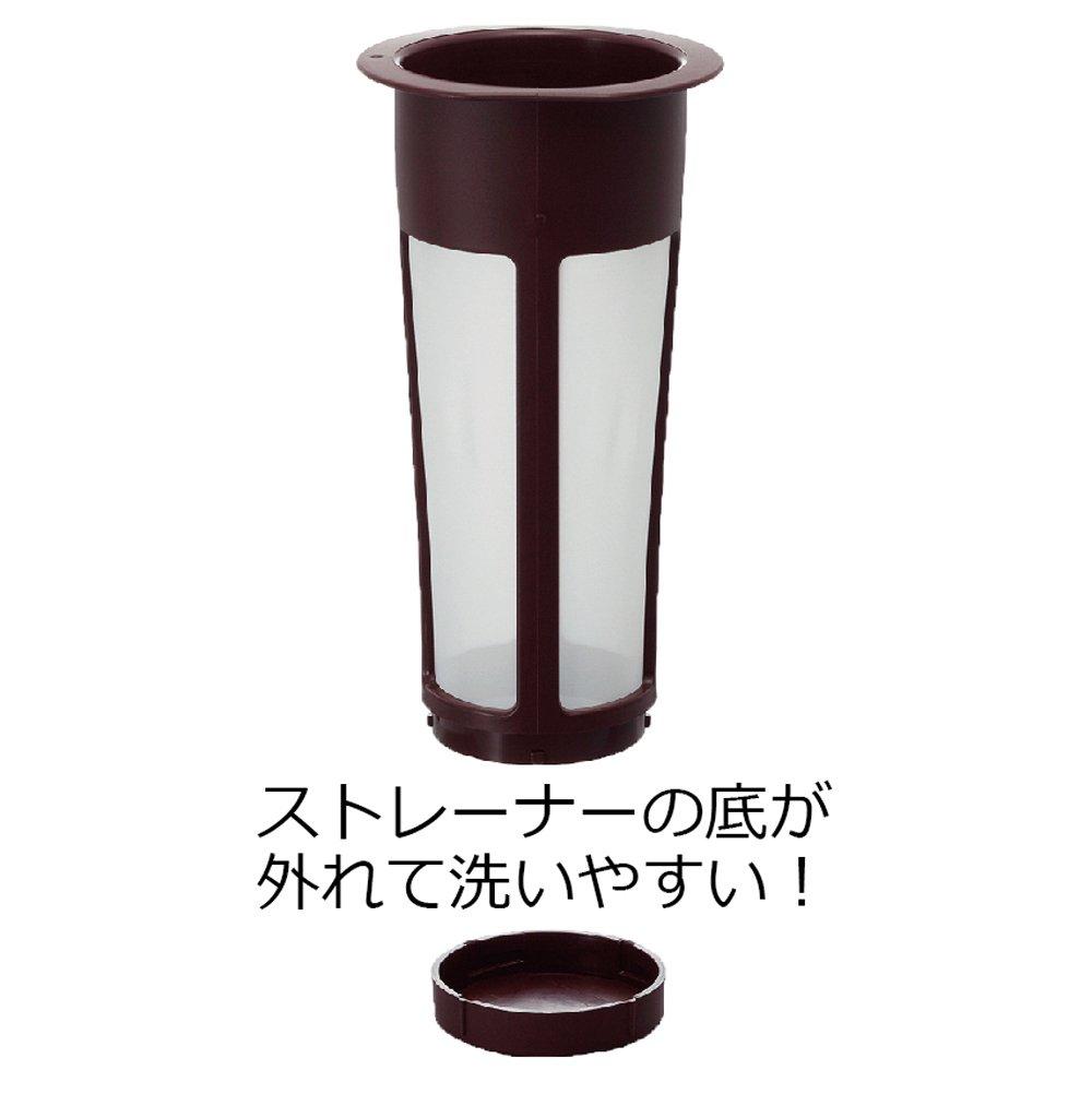 Hario Mizudashi Cold Brew Coffee Pot, 1000ml, Red