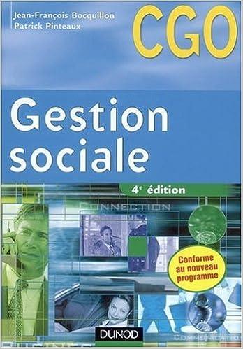En ligne téléchargement Gestion sociale : Processus 2 : Gestion des relations avec les salariés et les organismes sociaux epub pdf