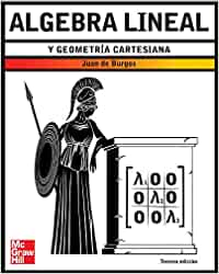 Algebra lineal y geometr{a cartesiana