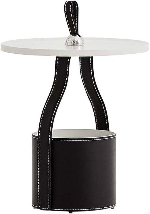 Mesas de café Salón pequeño mesita Redonda Sofá nórdico Mesa de ...