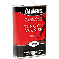 Old Masters 50501 Tung Oil Varnish - One Gallon by Old Masters