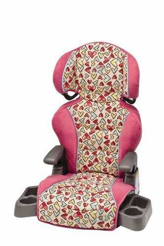 Evenflo Big Kid LX High Back Booster Seat Heart Scribbles Discontinued By Manufacturer