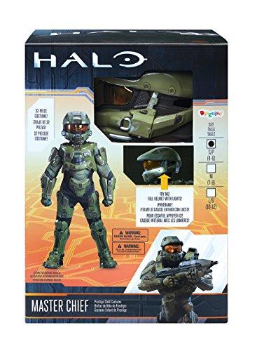 510NoTIlJAL - Master Chief Ultra Prestige Halo Microsoft Costume, Large/10-12