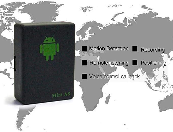 Vuffuw Mini Localizador GPS, GPS Tracker, GPS Portátil Tracking ...