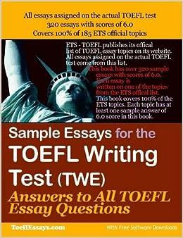 Toefl writing sample essays