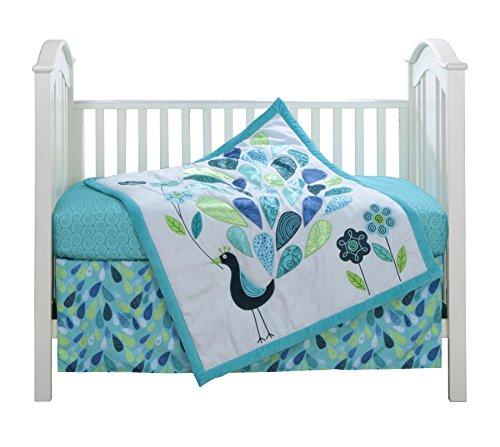 Peacock Crib Bedding Amp Nursery Theme Ideas For Baby Girls