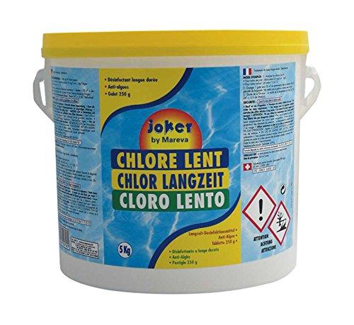 Mareva A1600697 Chlore Lent 5 kg