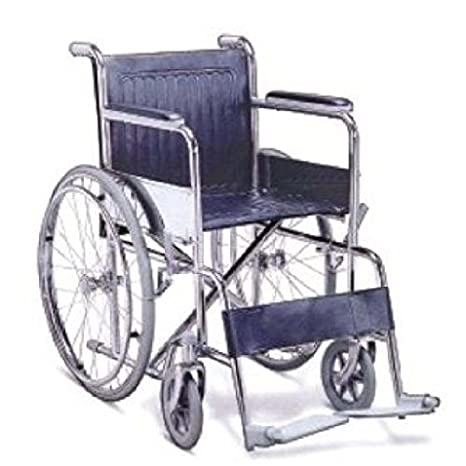 5dbfe1b59a3 Buy Karma Foldable Wheel Chair - Model Fighter C Online at Low Prices in  India - Amazon.in