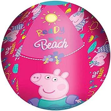 Diakakis 0482227 Pelota de Playa Inflable bajo Licencia Peppa Pig ...