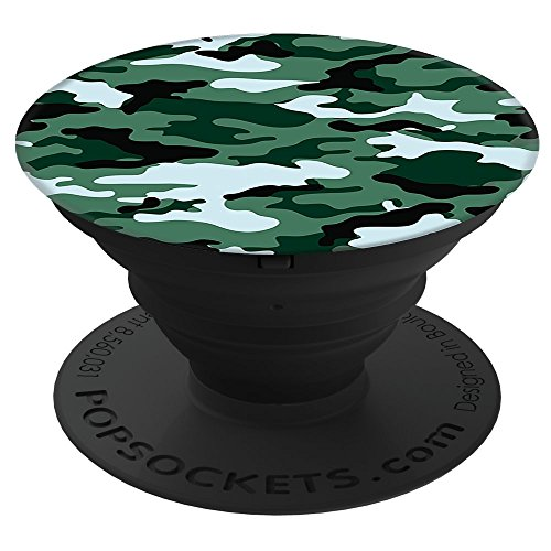 Thumb Green Pop (PopSockets: Collapsible Grip and Stand for Phones and Tablets - Green Camo)