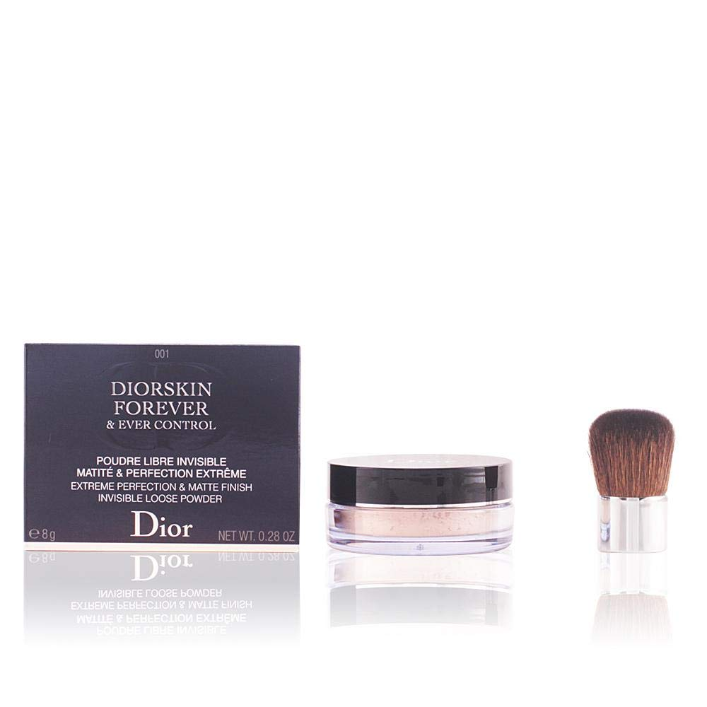 Christian Dior Diorskin Forever & Ever Control Invisible Loose Powder # 001, 0.28 Ounce