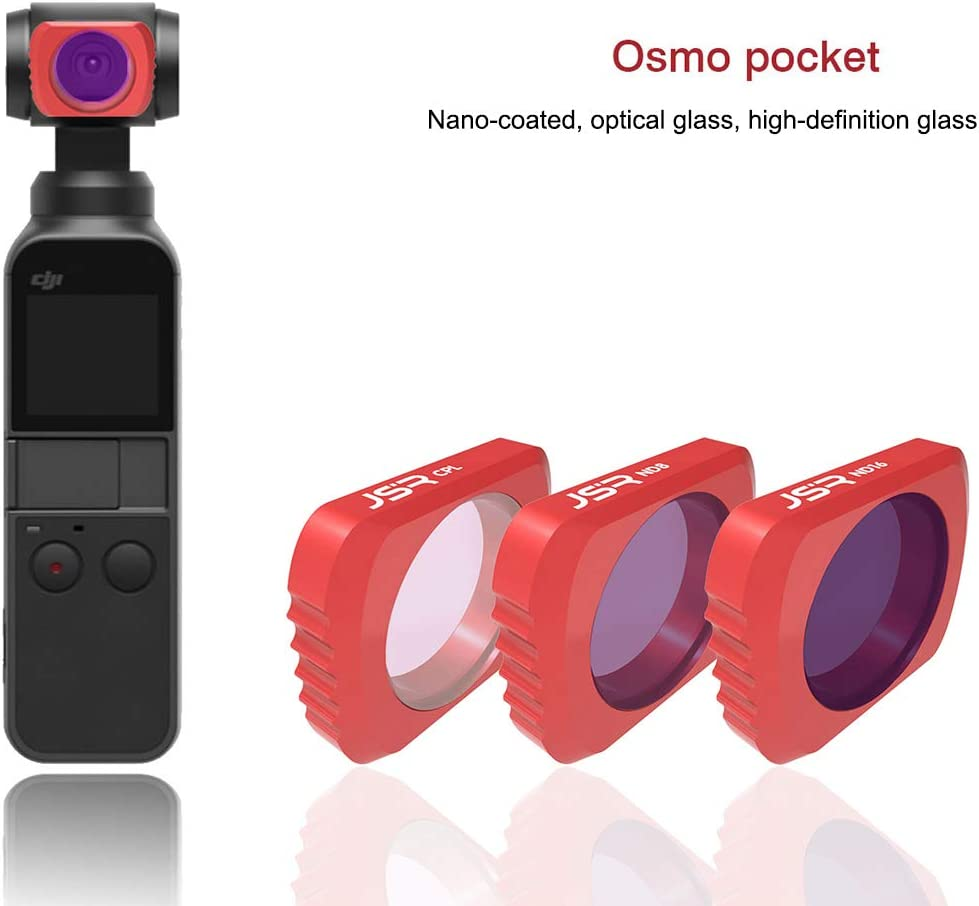 Chaomin HD Camera ND8 Lens Filter for DJI OSMO Pocket Reliable
