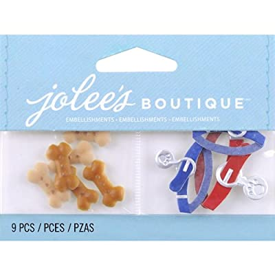 Jolee's Boutique Scrapbooking Embellishment, Dog Treats and Collars