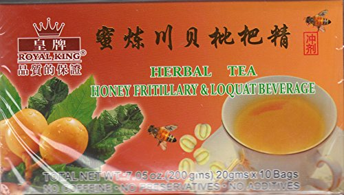 - Royal King Honey Fritillary & Loquat Beverage 20g X 10 Bags