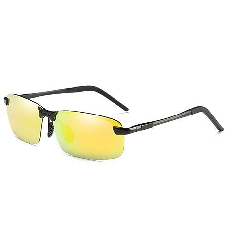 Occhiali da sole da notte premium per occhiali da sole alla moda di Ombra di notte ( Color : Yellow , Dimensione : One size )