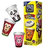 Hefty Zoo Pals 8-Ounce Cups With Lids, 14-Count Boxes (Pack of 12)
