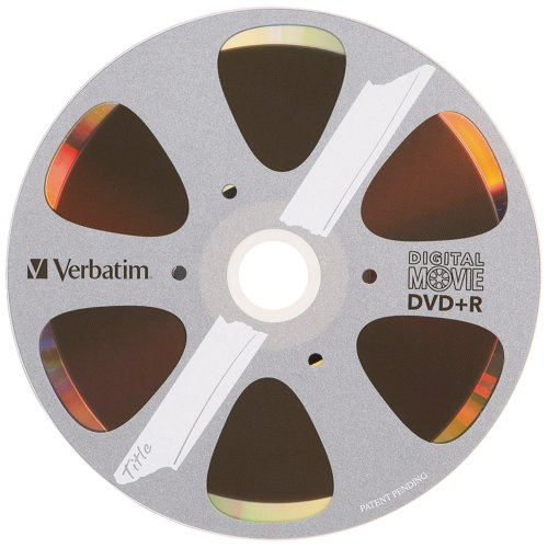 Verbatim 4.7GB 8x Digital Movie Recordable Disc DVD+R, 10-Di