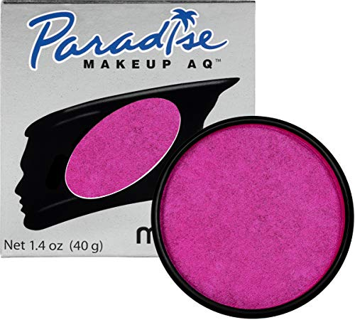 Mehron Makeup Paradise Makeup AQ Face & Body Paint (1.4 oz) (Brillant Fushia Fuchsia)