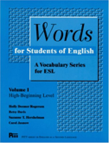 Words for Students of English: A Vocabulary Series for...