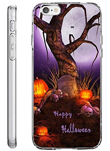 iPhone 6s / 6 Plus Hard Shell Case 5.5 Inch Ultra Slim Thin Scary Halloween -