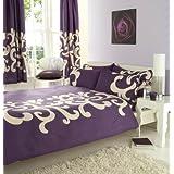 Eco Parure Couette 2 Place Violet