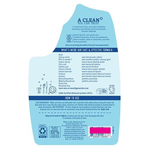 Buy all natural dishwasher detergent