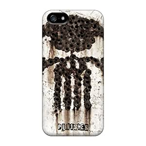 New Shockproof Protection Case Cover For Iphone 5/5s/ The Punisher Case Cover