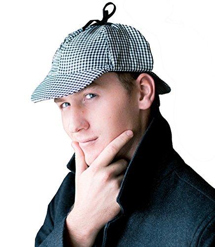 [Sherlock Holmes Detective Hat Costume Accessories] (Youre Next Costume)