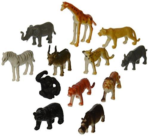 Party Favors 12/Pkg, Jungle Animals