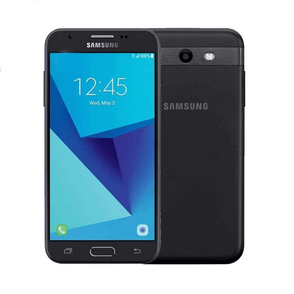 "Samsung Galaxy J3 Express Prime 2 SM-J327A 4G LTE 7.0 Nougat 5"" Smartphone (AT&T) - Black (Renewed)"