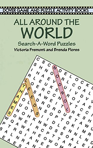 All Around the World Search-a-Word Puzzles (Dover Children's Activity Books)