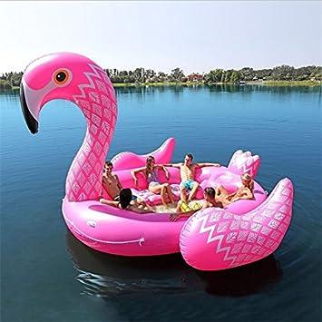 hinchable XXL Flamingo. Más de 5 m x 4,8 m Gross. El Trend ...
