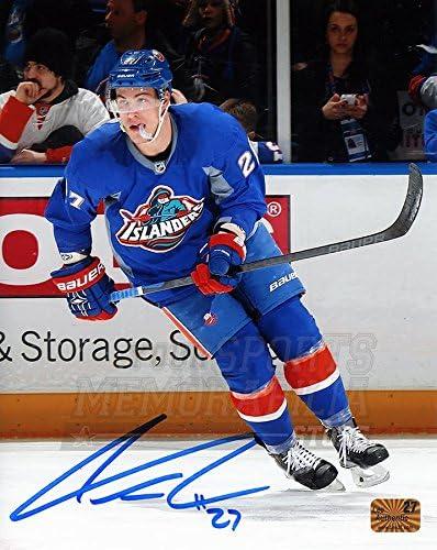 Anders Lee New York Islanders Signed Autographed Fisherman Jersey 8x10