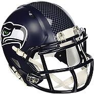 Riddell RIDDMINISEASP NFL Seattle Seahawks Revolution Speed Mini Helmet