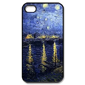 ALICASE Diy Customized hard Case Van Gogh For Iphone 4/4s [Pattern-1]