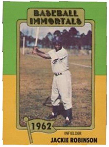 Jackie Robinson Baseball Card Brooklyn Dodgers Hall Of Fame